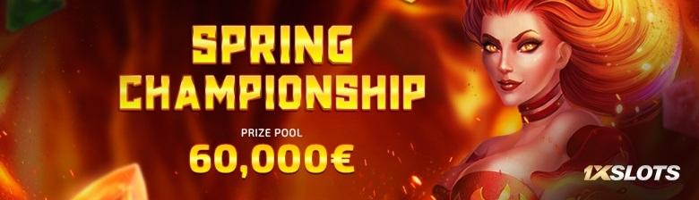 Весенний турнир от 1хСлотс